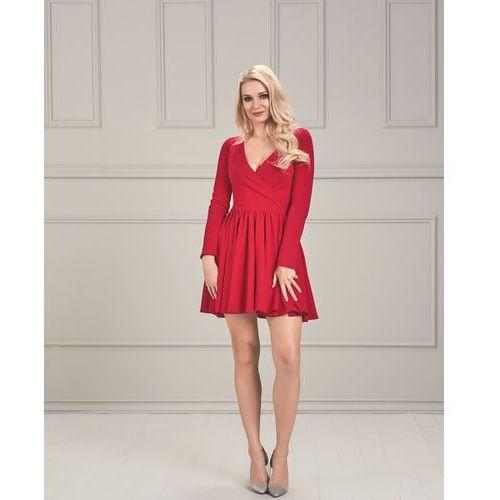 Sugarfree Sukienka chelsy w kolorze czerwonym