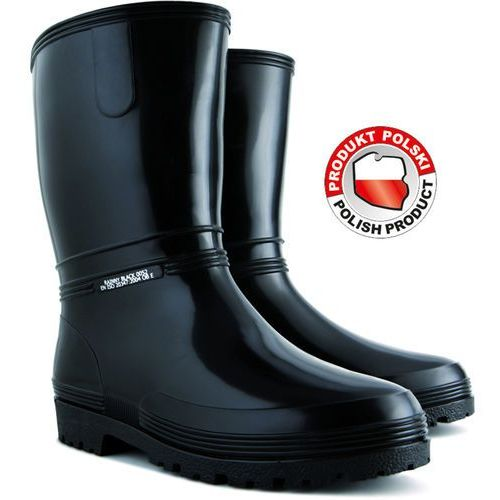 Rainny black kalosze damskie rozmiar 40 Demar 72854 - ZYSKAJ RABAT 30 ZŁ, kolor czarny