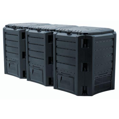 KOMPOSTOWNIK MODULE COMPOGREEN 1200 L CZARNY, PP-IKSM1200C