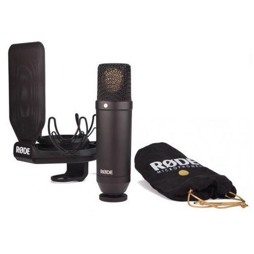 nt1 kit studyjny mikrofon pojemnościowy z akcesoriami marki Rode