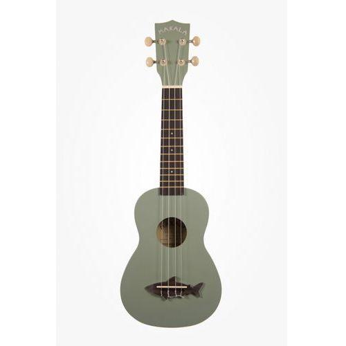 makala shark ss-gry ukulele sopranowe, szare marki Kala