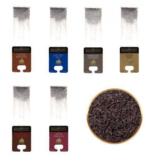 Zestaw smaków Richmont - Herbaty Czarne - 6 szt.