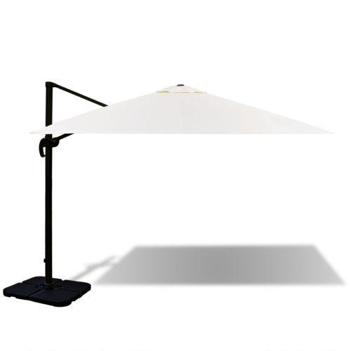 vidaXL Aluminiowy parasol rzymski 3 x m z przenośną podstawą