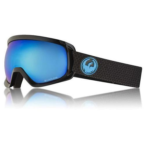 Dragon Gogle snowboardowe - d3 otg bonus split/blueion+amber (334) rozmiar: os