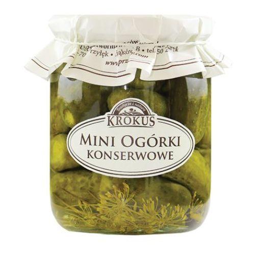 193krokus Krokus 500g mini ogórki konserwowe tradycyjna receptura (5906732620101)