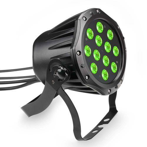 Cameo CLPSTTRI12IP Outdoor PAR TRI 12 IP65 - 12 x 3 W TRI Colour LED- reflektor LED w czarnej obudowie IP65