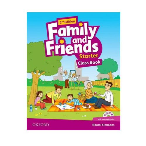 Family and Friends: Starter: Class Book (9780194808354)