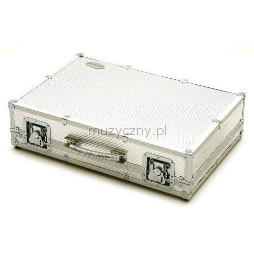 23010 case na efekty (duży) silver aluminium marki Rockcase
