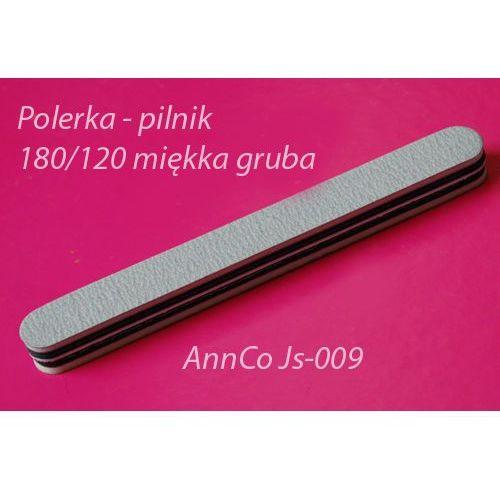 Pilnik (polerka) do paznokci żelowych i akrylowych 180/120 ZEBRA (bardzo gruby) - produkt z kategorii- pilniki i polerki do paznokci