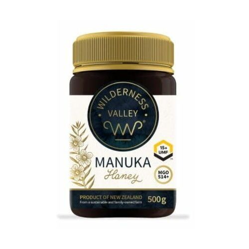 Ekowital Miód manuka umf 15+ mgo 514+ 500 g wilderness valley ltd (9421904205024)