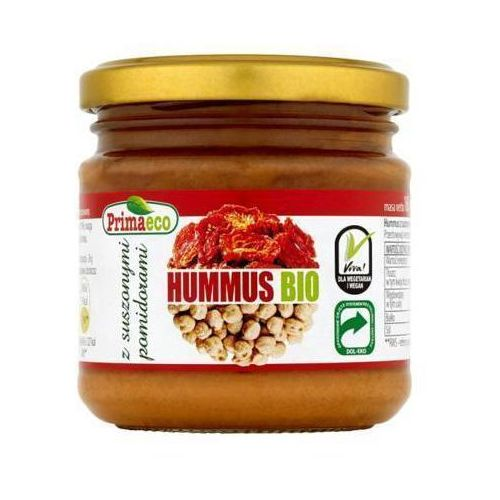 Primaeco 160g hummus z suszonymi pomidorami bio