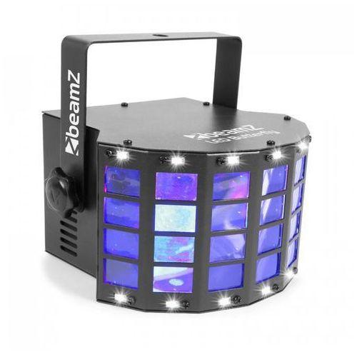 Beamz LED Butterfly 3x3W RGB + 14xSMD stroboskop tryb muzyczny lub automatyczny