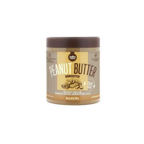 Krem orzechowey Trec Better Choice Peanut Butter Smooth 500g Toffee