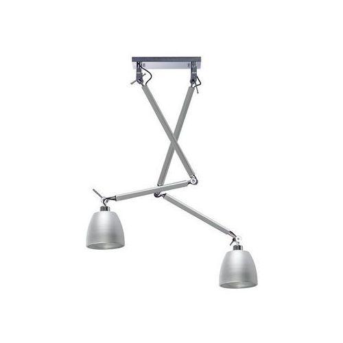Azzardo Zyta 2 s md2300-2s alu/alu lampa sufitowa