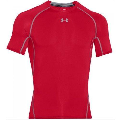 Under Armour bluzka męska Ua Hg Armour SS Czerwona L, kolor czerwony
