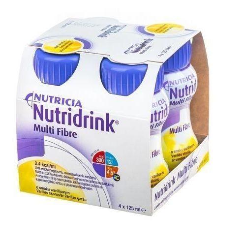 Nutricia polska Nutridrink multi fibre o smaku waniliowym 4 x 125ml