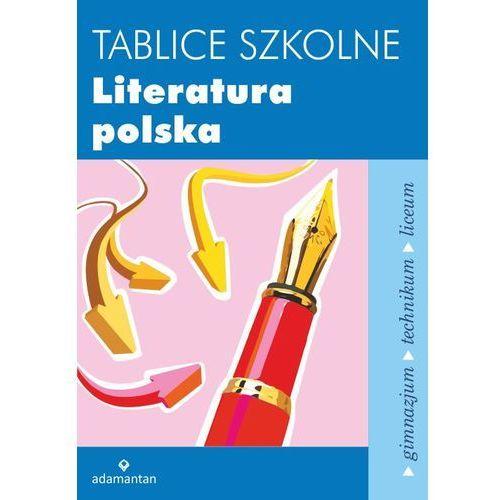 Tablice szkolne Literatura polska (2015)