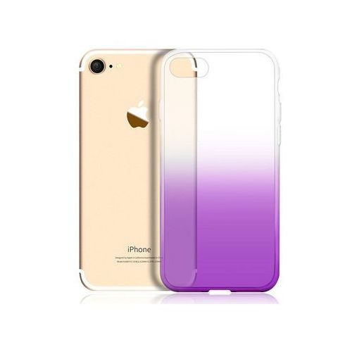 Alogy Etui ombre case apple iphone 7 / 8 fioletowe - fioletowy