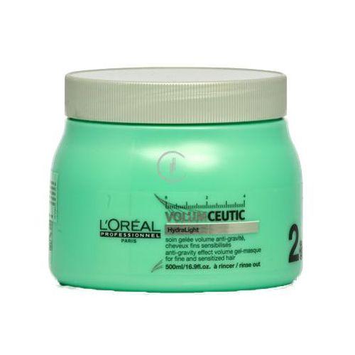 L'oreal volumceutic masque żelowa maska nadająca objętość włosom cienkim i delikatnym (500 ml)