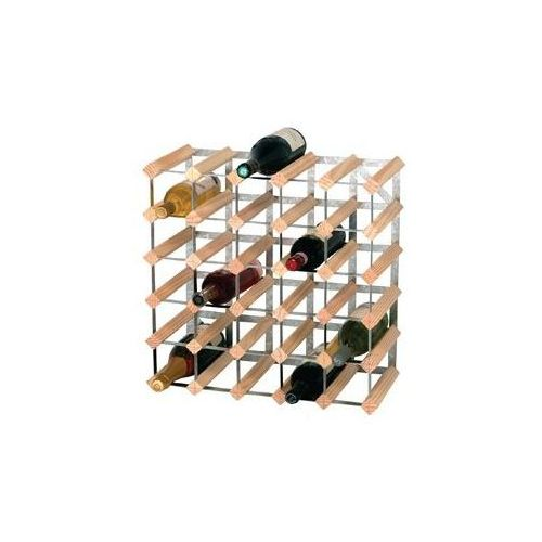 Stojak na wino   30 butelek   612x228x(h)412mm marki Xxlselect