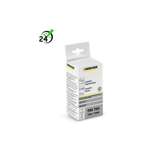 Rm 760 carpetpro środek czyszczący – tabletki, 16 szt.  #bon 12zł na każde urządzenie #zwrot 30dni! #gwarancja d2d #negocjacja cen online #karta 0zł #pobranie 0zł #raty 0% #leasing od producenta Karcher