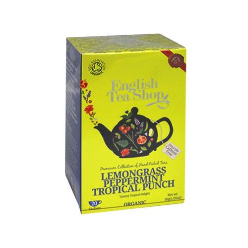 ETS Lemongrass Peppermint Tropical Punch 20 saszetek, 2505