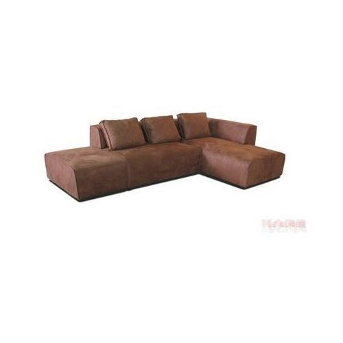 Kare Design Infinity Antique Narożnik Prawy Rust Tkanina 302x70x182cm - 78638 - oferta [65724574f7e542de]