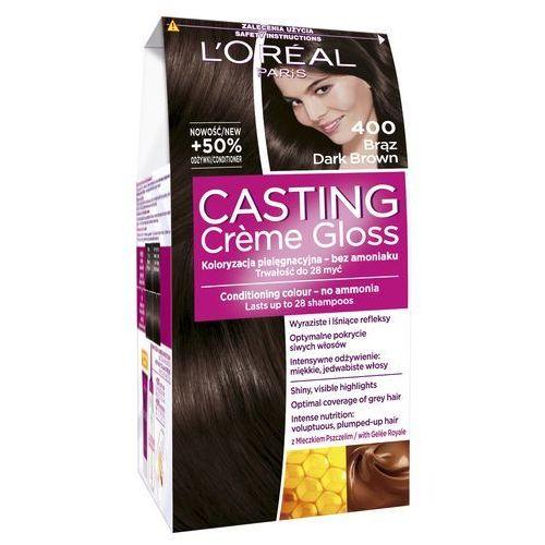 L'Oreal Paris, Casting Creme Gloss. Farba do włosów, 400 Brąz - L'Oreal Paris