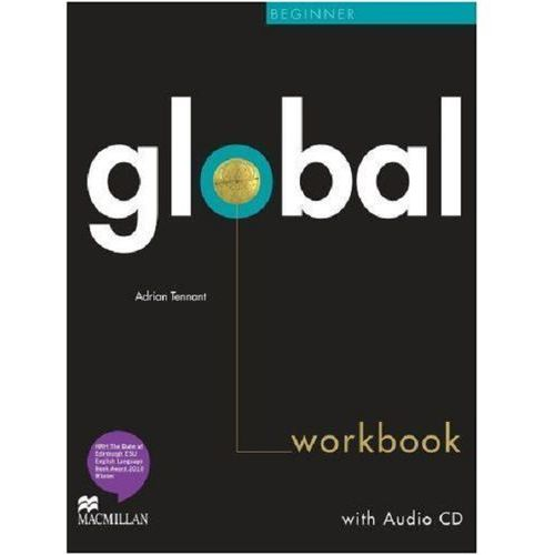 Global Beginner Workbk + CD Without Key, Adrian Tennant
