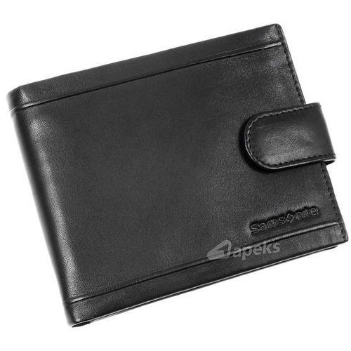 94bde586da78a Samsonite b-lux portfel skórzany męski rfid / 146-294-1 (5901445489625)  237,00 zł Portfel skórzany męski Samsonite 146-294-1 czarny RFID. Portfele  z ...