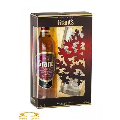 William grant & sons Whisky grant's 0,7l + 2 szklanki