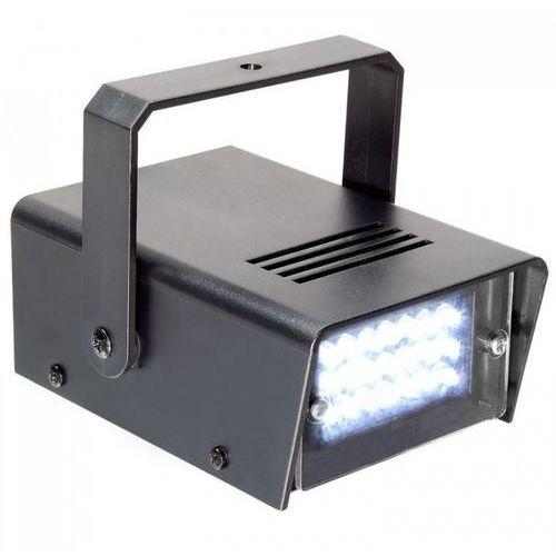 Beamz Mini stroboskop, 24 x LED, 10 W, uchwyt mocujący