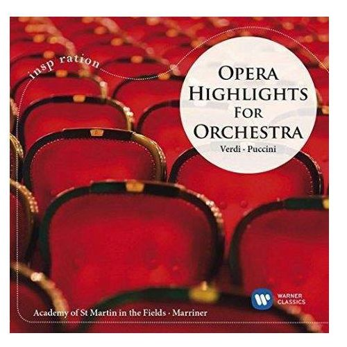 Opera highlights for orchestra - marriner, academy of st. martin (płyta cd) marki Warner music poland