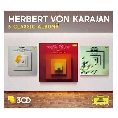 Herbert von karajan - 3 classic albums: schoenberg, berg, webern marki Universal music / deutsche grammophon