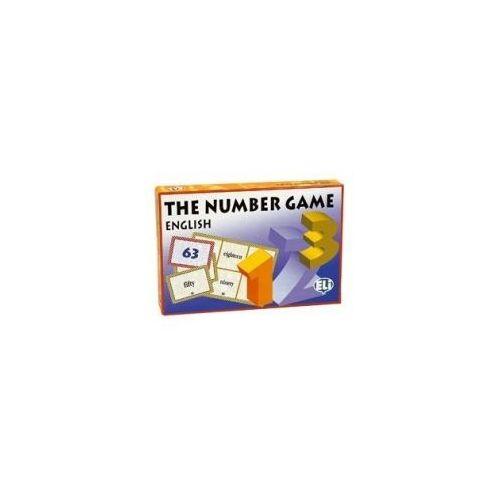 Gra językowa Angielski The number game . Opr. karton, ELI