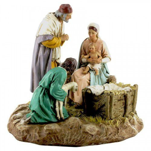 Figura do szopki, Święta Rodzina,18 cm