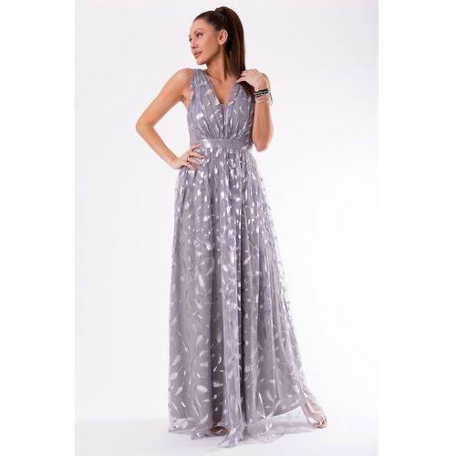 d494e93b00 Eva lola Eva   lola sukienka szary 54001-2 367