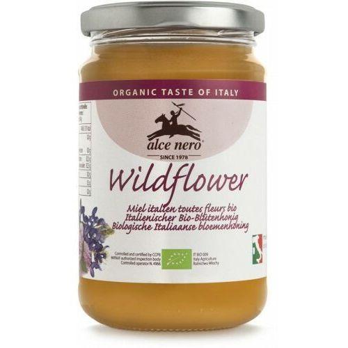 Miód nektarowy wielokwiatowy bio 400 g - alce nero marki Alce nero (włoskie produkty)