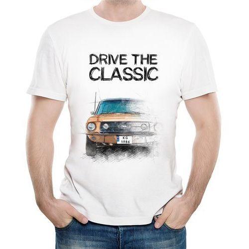 Koszulka Męska z Nadrukiem fana Ford Mustang I gen