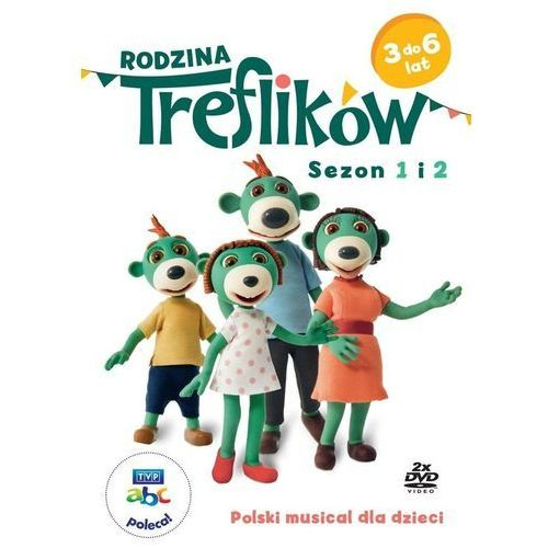 Rodzina Treflików sezon 1-2 (Płyta DVD) (5902739660874)