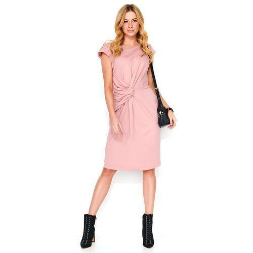 Makadamia sukienka damska 44 różowa, kolor różowy