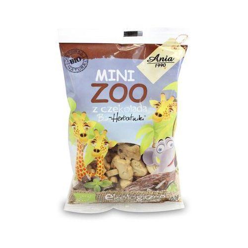 Bioania Ciasteczka z czekoladą mini zoo bio 100g - bio ania
