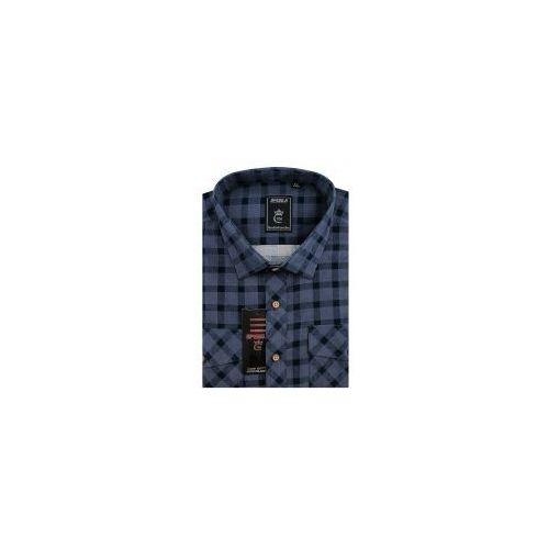 ed7ebddd53ad64 Speed.a Koszula męska sztruksowa fioletowa w kratkę na długi rękaw duże  rozmiary d945 68,00 zł Oddajemy w Państwa ręce wysokiej klasy koszulę męską  ...