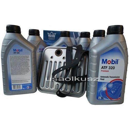 Mobil Filtr oraz olej atf-320 skrzyni biegów jeep grand cherokee 1998-2004