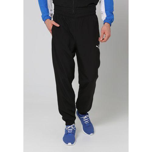 Puma ESSENTIALS Dres blackstrong/bluewhite - produkt z kategorii- dresy męskie komplety