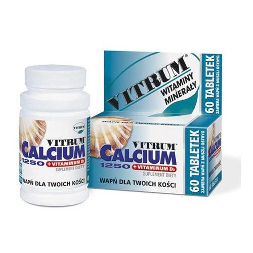Vitrum Calcium 1250 +vit D3 x 30tabl. (artykuł z kategorii Leki na osteoporozę)