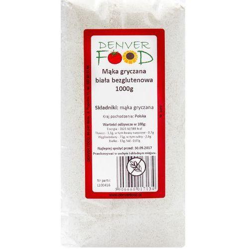Mąka Gryczana Biała Bezglutenowa 1 kg Denver Food