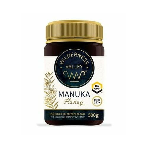 Miód Manuka UMF 10+ MGO 263+ 500 g Wilderness Valley Ltd
