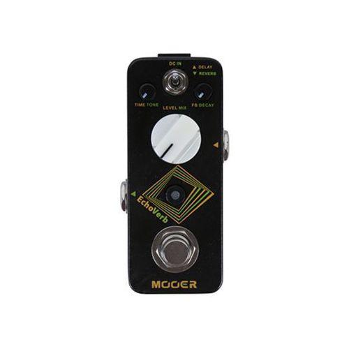 Mooer echoverb, digital delay & reverb efekt gitarowy