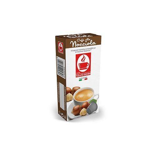 Kapsułki do nespresso* orzech laskowy/nocciola 10 kapsułek - do 18% rabatu przy większych zakupach oraz darmowa dostawa marki Caffe bonini